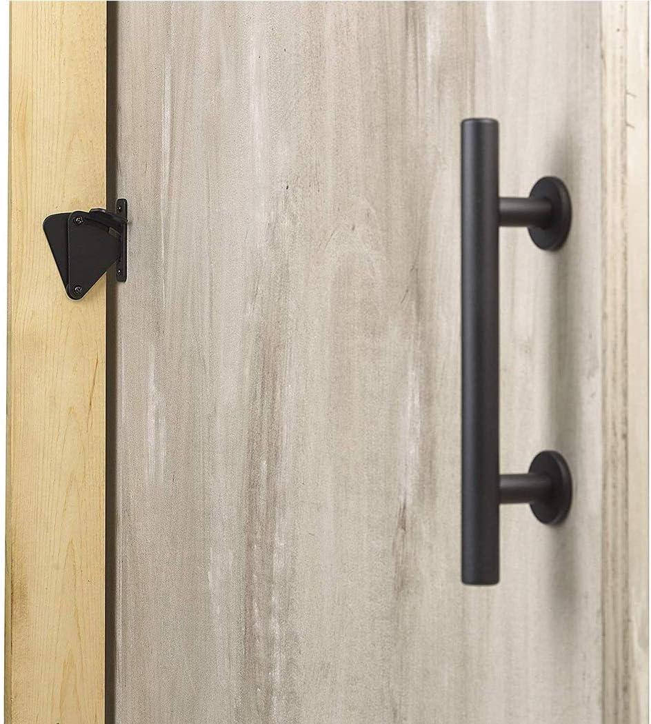 LWZH Kit de bloqueo deslizante para puertas correderas de madera ...
