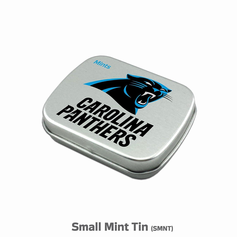 813af7af6 Amazon.com : Carolina Panthers 6-Piece Fan Kit with Decorative Mint Tin,  Nail Clippers, Hand Sanitizer, SPF 15 Lip Balm, SPF 30 Sunscreen, Sanitizer  Wipes.