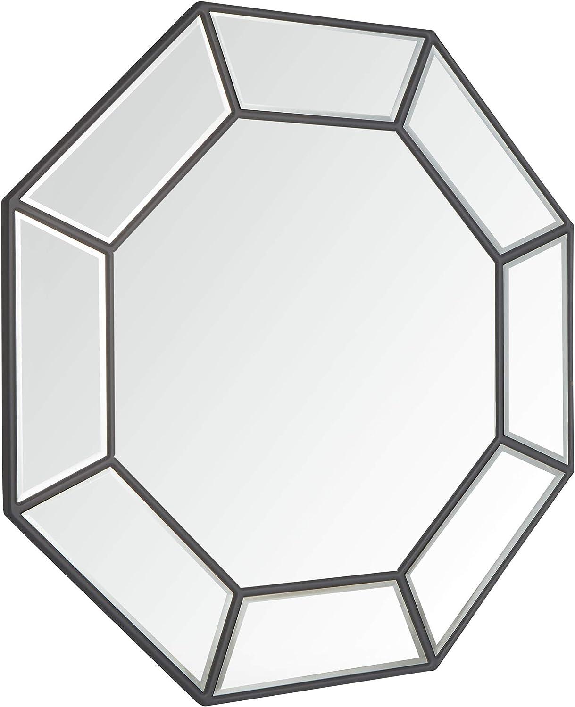 S/éjour Chambre /à Coucher Vestibule Beautify Grand Miroir Ovale Champagne//Or//Crochets M/étalliques pour Accrocher Cercle Circulaire Verre 80 cm H x 60 cm l