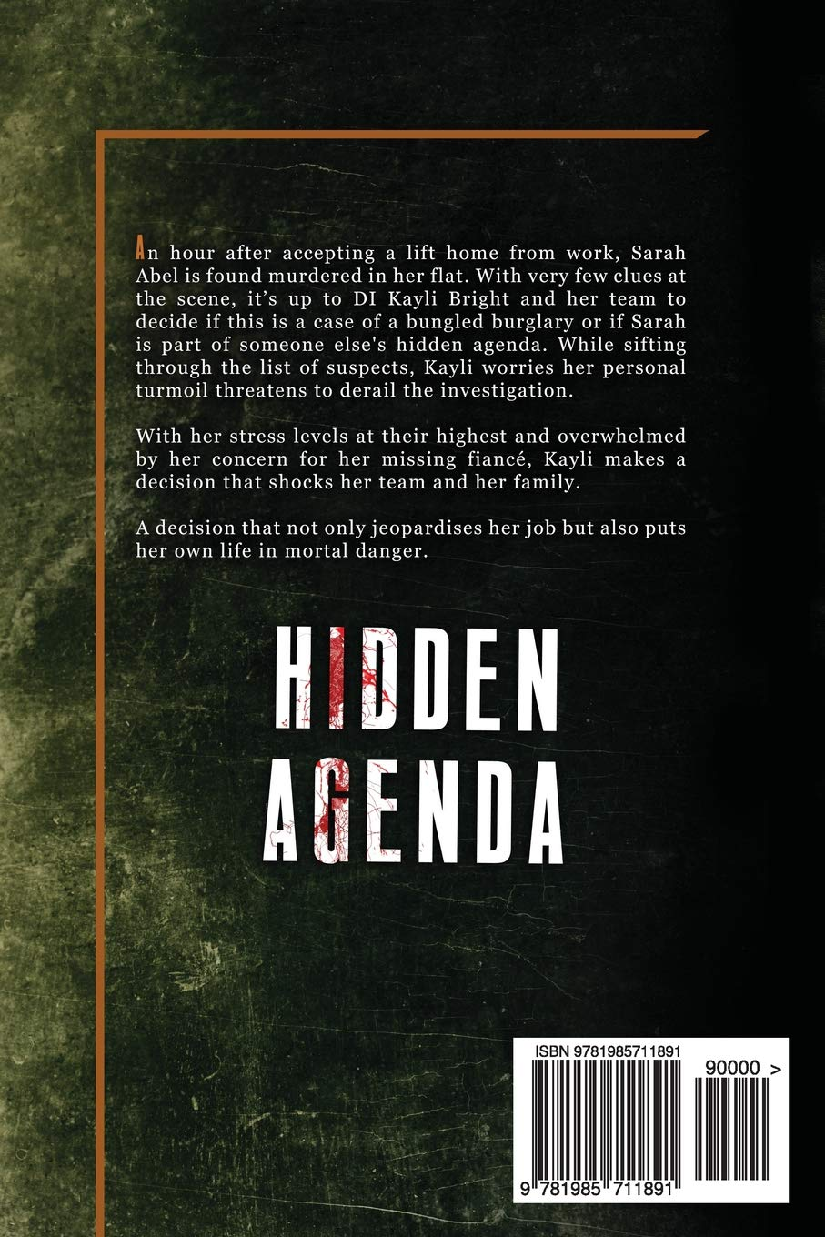 Hidden Agenda: Volume 3 (DI Kayli Bright): Amazon.es: M A ...