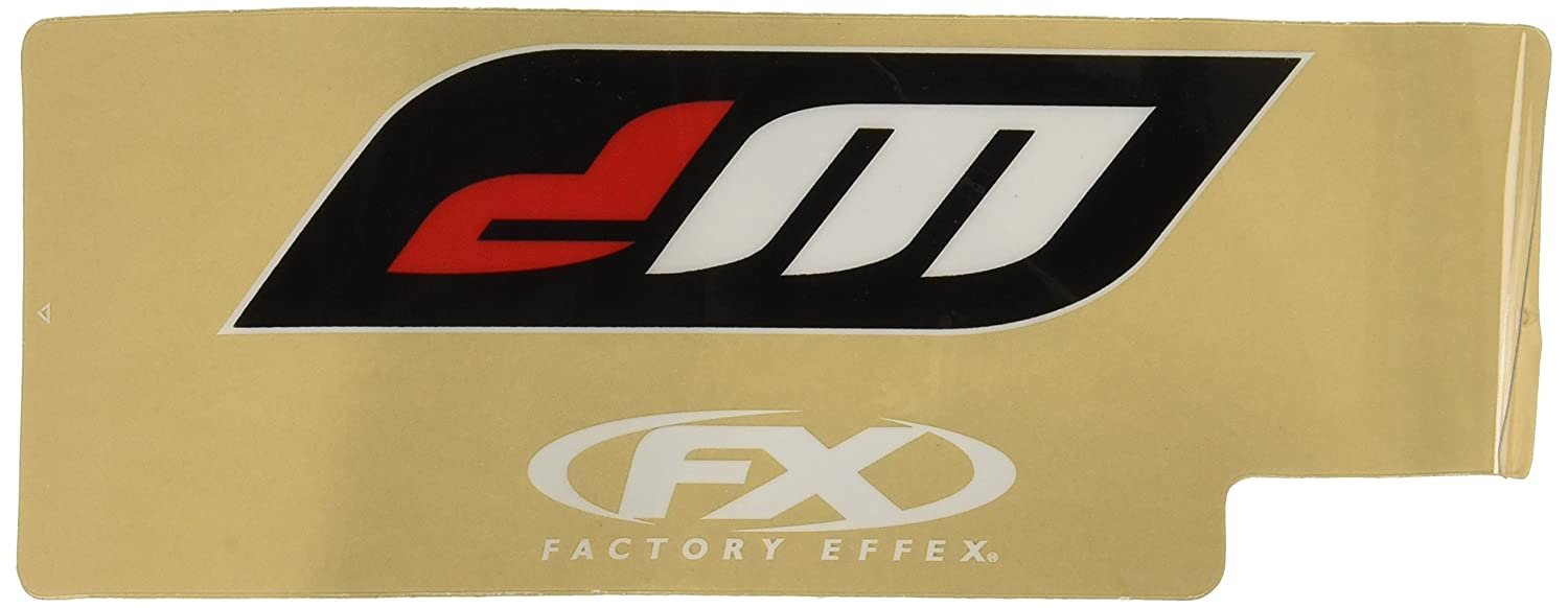 White Upper Fork Shield Graphic 06-38010 Factory Effex