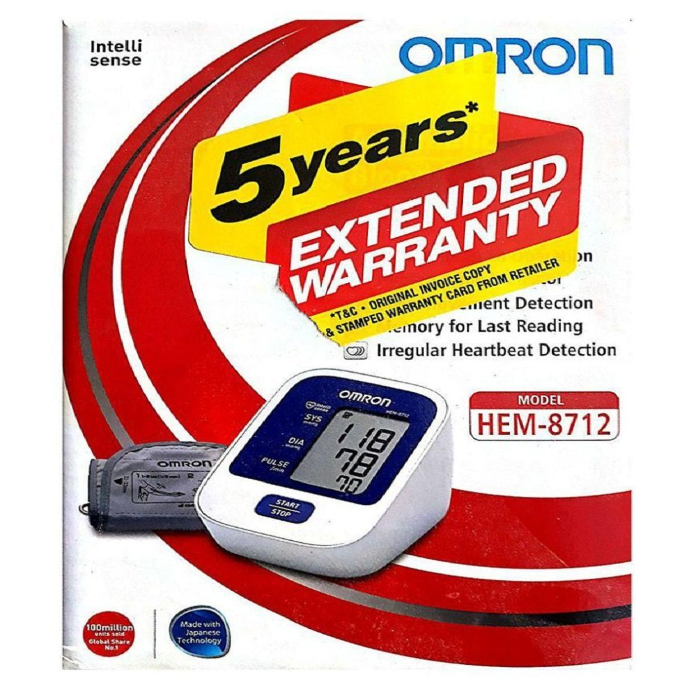 Omron HEM-8712 Best Blood Pressure Monitor