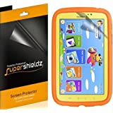 [3-Pack] Supershieldz- Anti-Glare & Anti-Fingerprint (Matte) Screen Protector For Samsung Galaxy Tab 3 Kids + Lifetime Replacements Warranty [3-PACK] - Retail Packaging