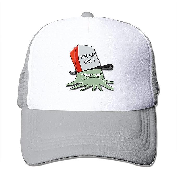 5969a1451b867 Amazon.com  HONGSH Cowboy Cap Squidbillies Hip Hop Trucker Hat for Adult   Clothing