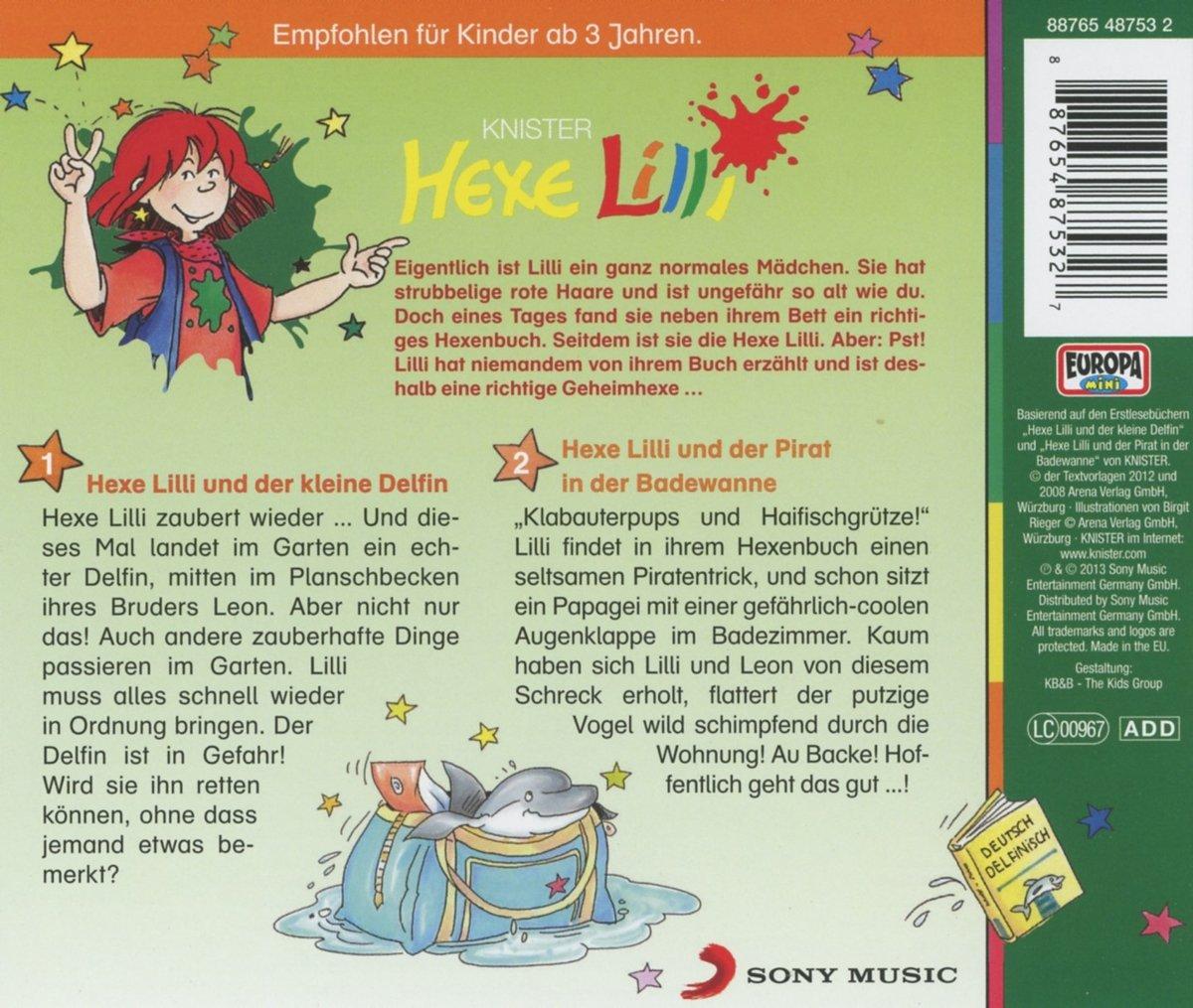 Und der Kleine Delfin - Hexe Lilli: Amazon.de: Musik