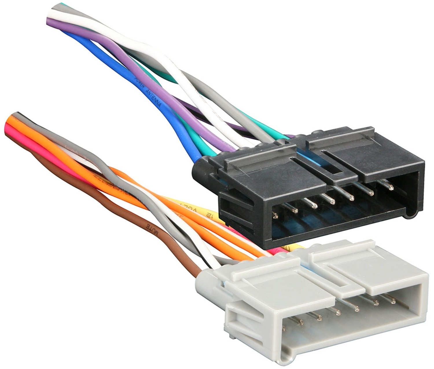 71QUZlC QWL._SL1500_ amazon com metra 70 1817 radio wiring harness for chrysler jeep stereo wiring harness at mifinder.co