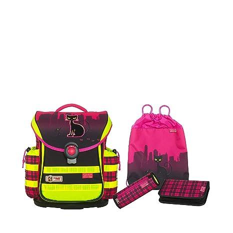 1e7893d9c4 McNeill Satchel Set (Set of 4) Ergo Light Plus DIN Sets Polyester 20.0 l   Amazon.co.uk  Luggage