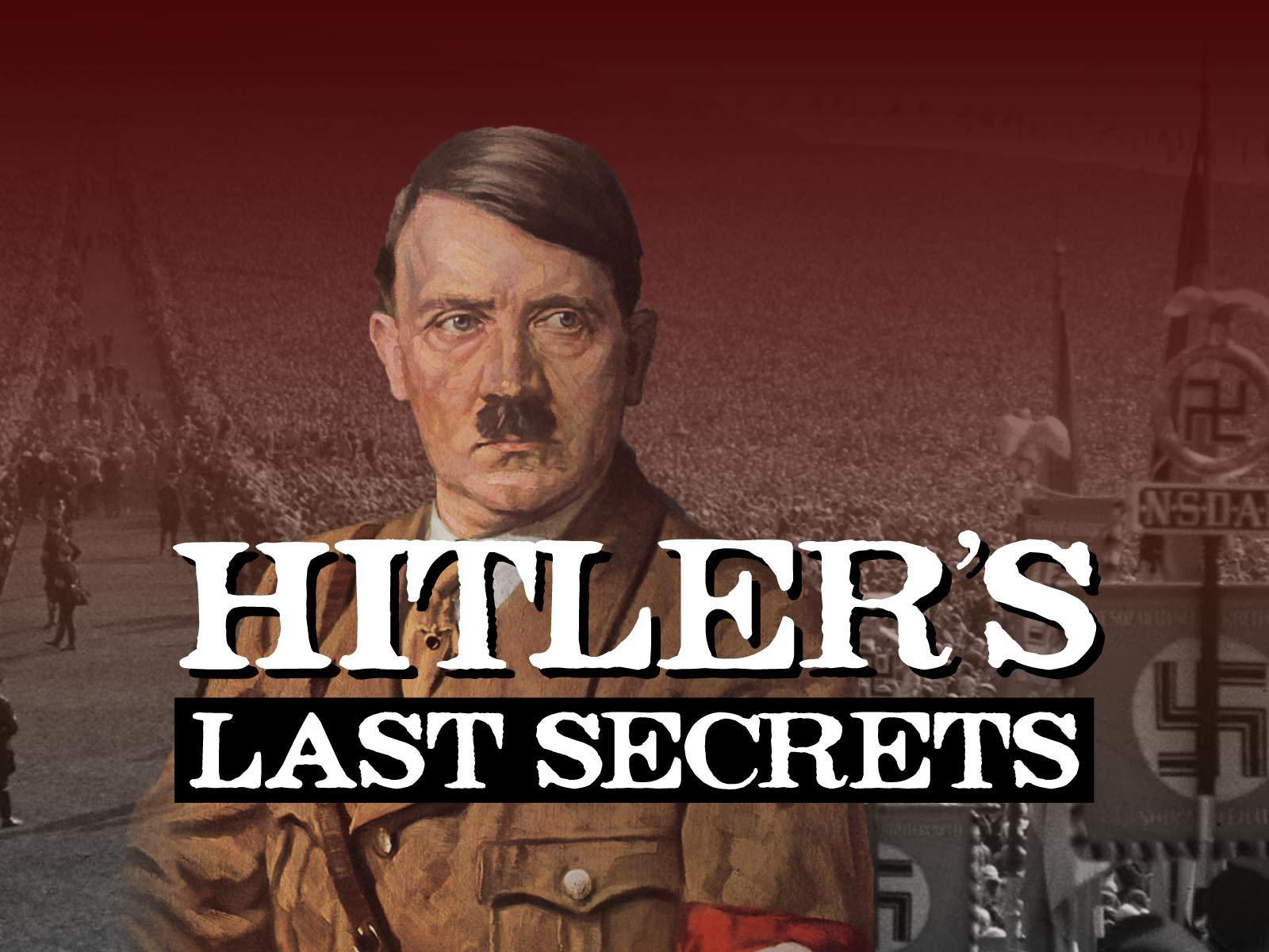 Hitler's Lost Secret Documents