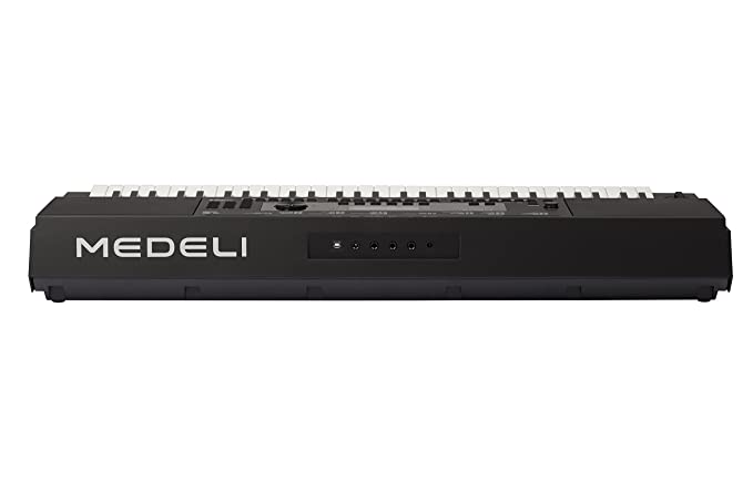 Teclado Electrónico Portátil Medeli M361 - 61 Teclas Sensibles - USB Midi - Pantalla LCD Retroiluminada - 653 Voces - 240 Estilos - Polifonía 128 (Max): ...