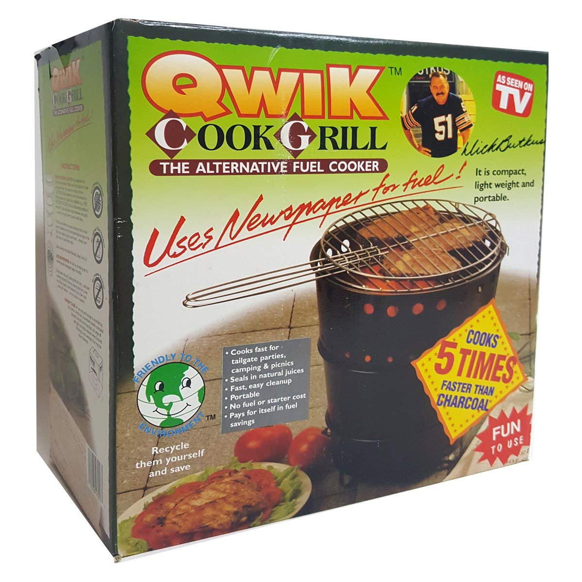 Qwik-Cook Grill