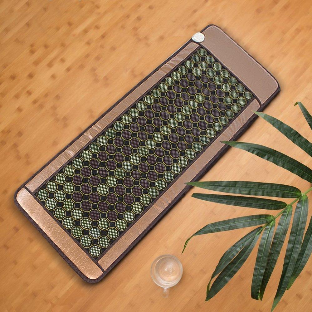 Xmas PROMO ONXO Far Infrared Heat Therapy Healing Jade Mat (72''L X 24''W)