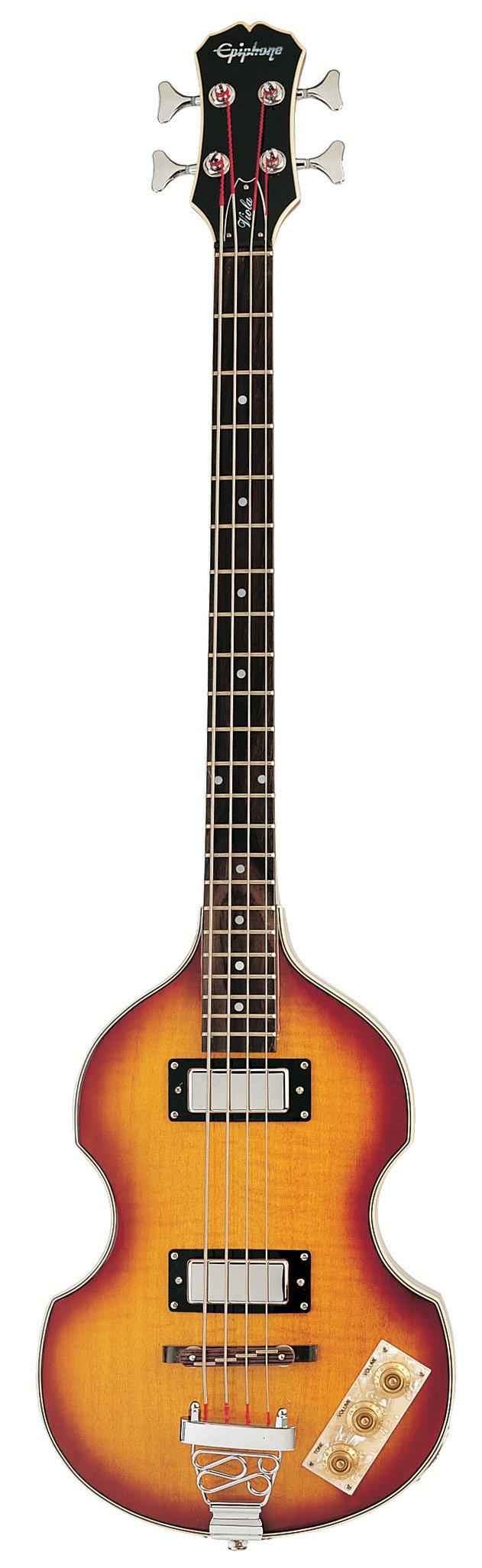 Epiphone VIOLA Electric Bass Guitar, Vintage Sunburst