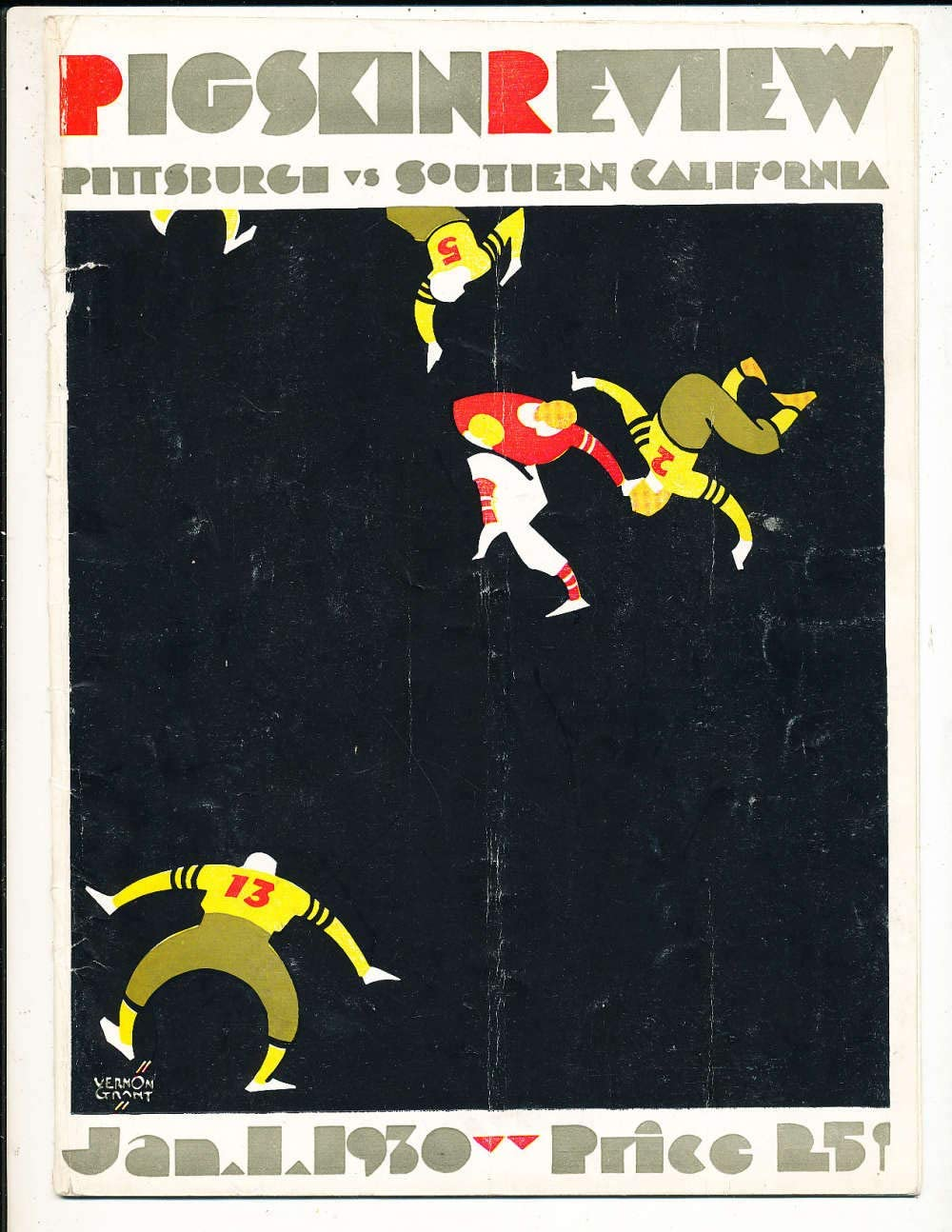 Amazon.com: 1930 Rose Bowl Football Program Pittsburgh vs USC a1 ...