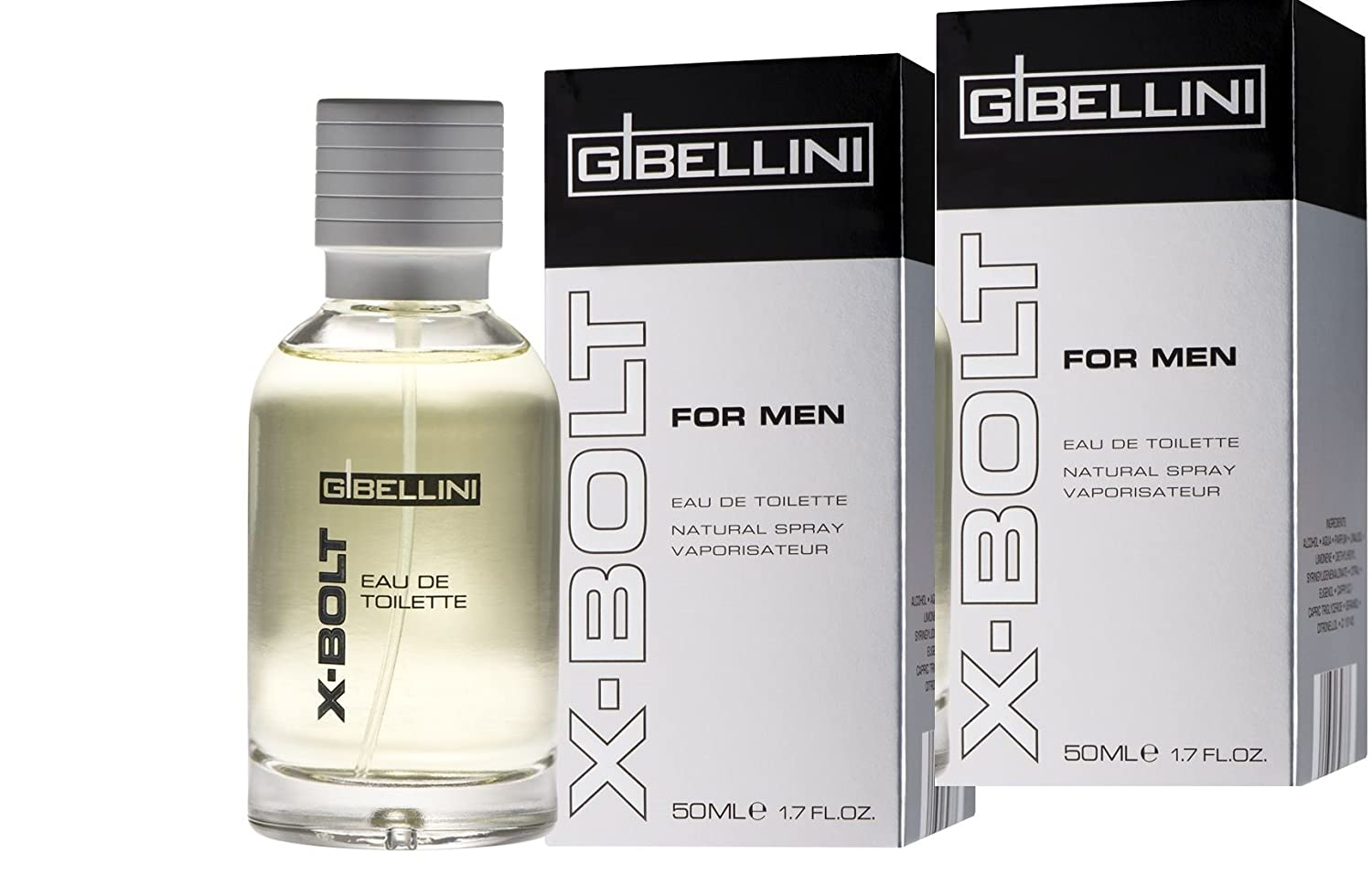 G Bellini X Bolt For Men Edt 50 Ml Amazoncouk Kitchen Home