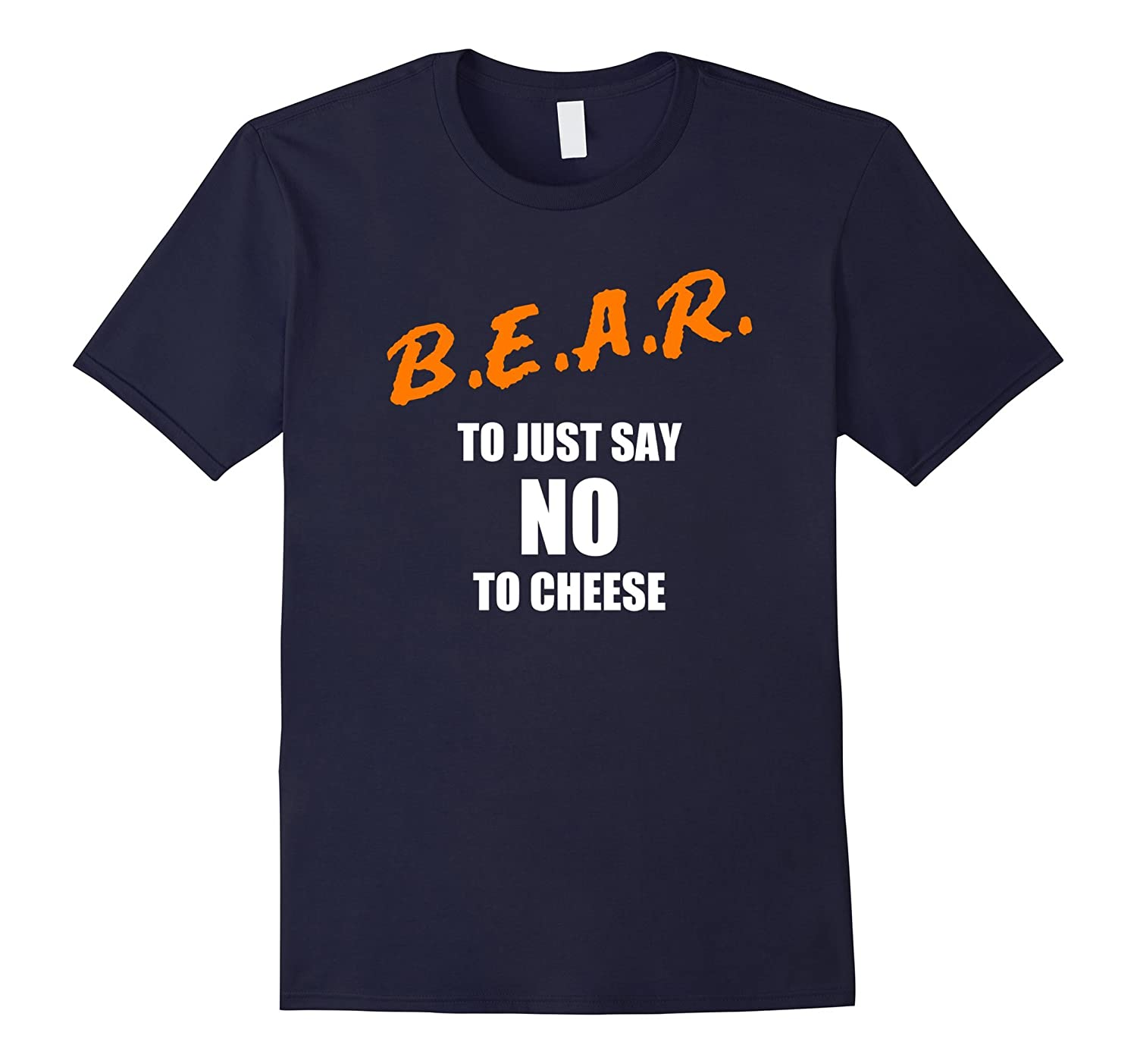 B.E.A.R. to Say No to Cheese Chicago rivalry t-shirt-FL