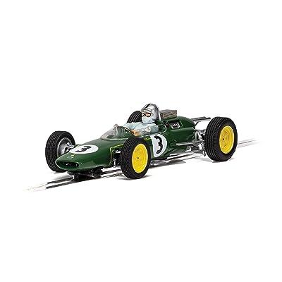 Scalextric Lotus 25 Monaco Grand Prix 1963 Jack Brabham 1:32 Slot Car C4083: Toys & Games