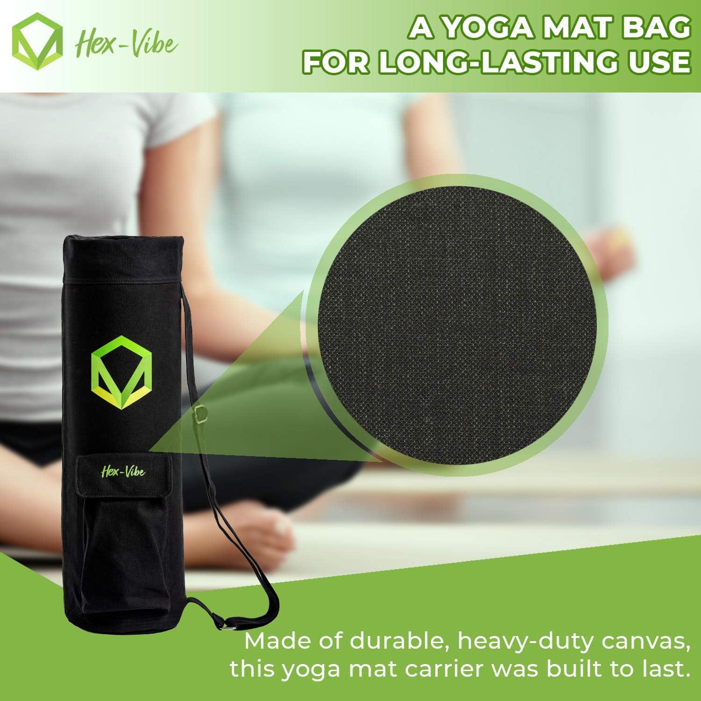 Amazon.com: Hex-Vibe - Bolsa para esterilla de yoga con ...