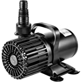 VIVOSUN 4500GPH Submersible Water Pump 220W Ultra Quiet Pump with 20.3ft Power Cord High Lift for Pond Waterfall Fish…