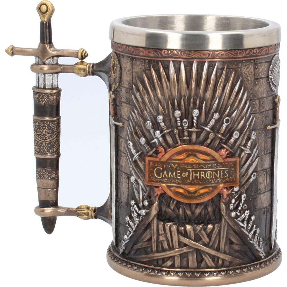 Game of Thrones Iron Throne Tankard 14cm /Beer Stein ? Beer Glass Nemesis