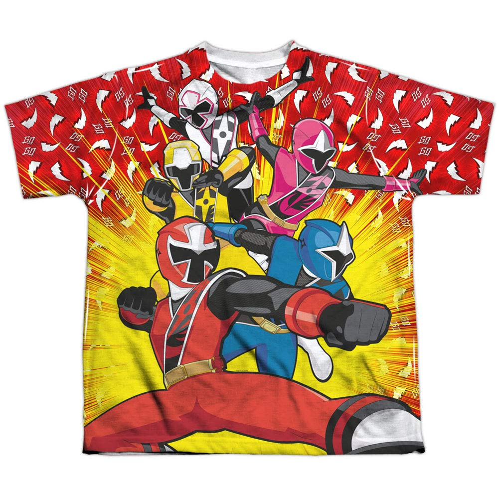 Amazon.com: Power Rangers Mens Go Go Ninja Steel ...