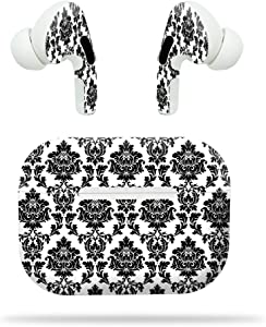 MightySkins Compatible with Apple Airpods Pro - Vintage Damask | Protective, Durable, and Unique Vinyl Decal Wrap Cover | Easy to Apply, Remove, and Change Styles | Made in The USA