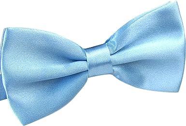 WELROG Corbatas de lazo preatadas para hombres para fiesta de ...