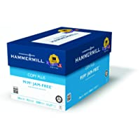 Hammermill Paper, Copy Plus, 20lb, 11 x 17, Ledger, 92 Bright, 2500 Sheets / 5 Ream Case (105023C), Made In The USA