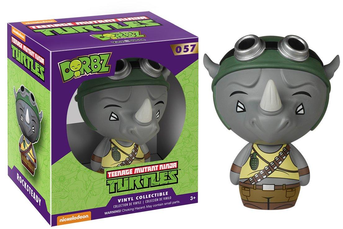 Rocksteady Action Figure 6260 Accessory Toys /& Games Miscellaneous Funko Dorbz Teenage Mutant Ninja Turtles