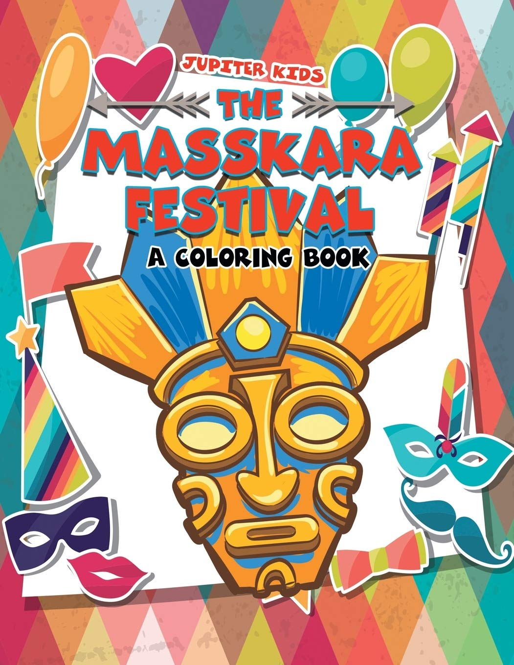 Buy The Masskara Festival A Coloring Book Book Online At Low Prices In India The Masskara Festival A Coloring Book Reviews Ratings Amazon In