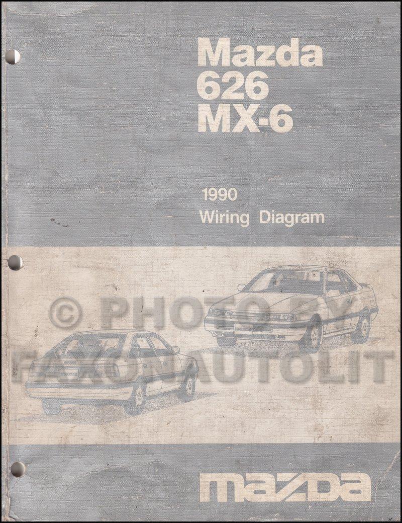 Mazda Mx6 Wiring Diagram - Wiring Diagram