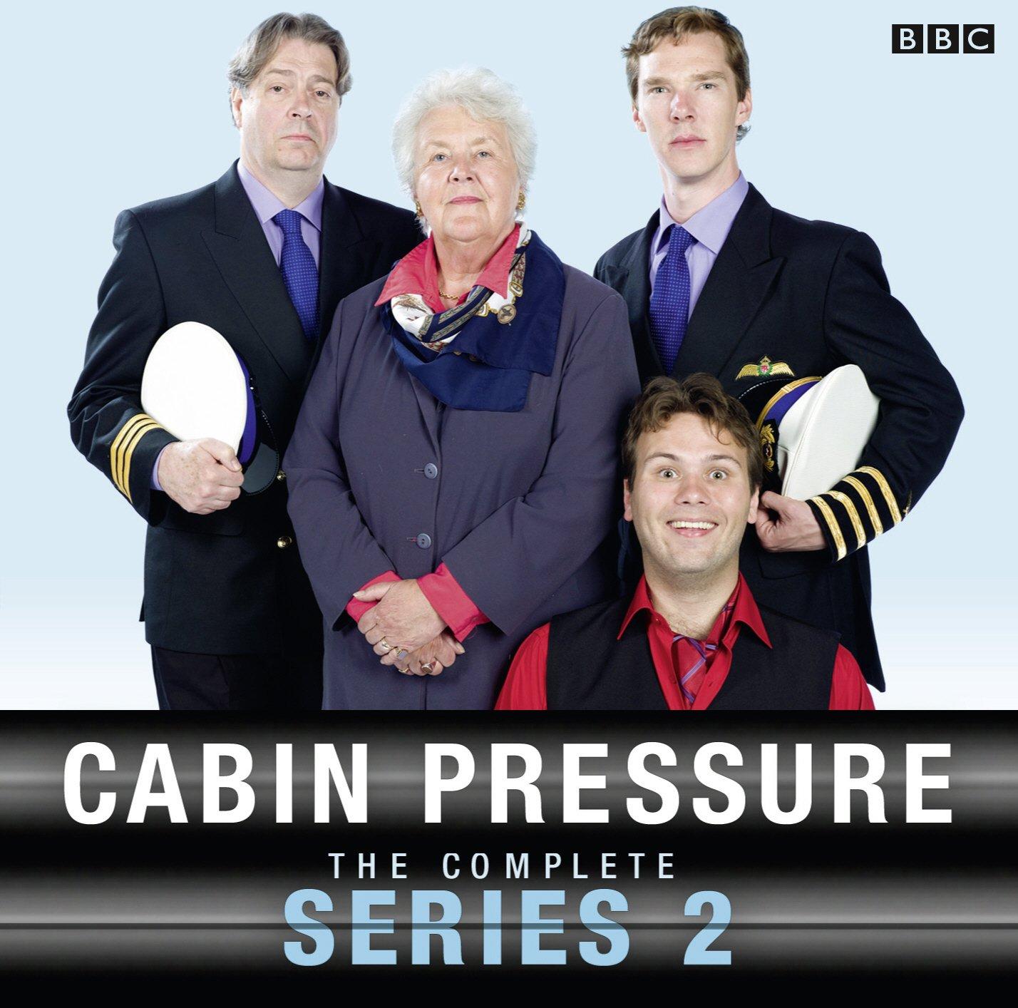 Cabin Pressure: The Complete Series 2: Amazon.co.uk: John Finnemore,  Benedict Cumberbatch, Full Cast, Roger Allam, Stephanie Cole: Books