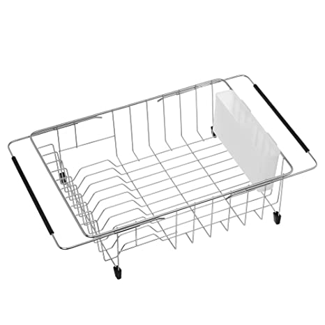 Amazon.com  iPEGTOP Expandable Deep   Large Dish Drying Rack fc3a590735e8