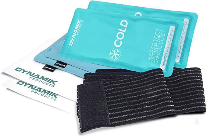 Gelpacksdirect - pack de 2 bolsas de gel reutilizables para ...