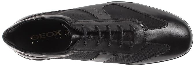 Geox U City J Sneaker, , taglia, Nero, 39: Amazon.it