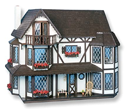 Amazon Com Greenleaf Dollhouse Kit Harrison Toys Games