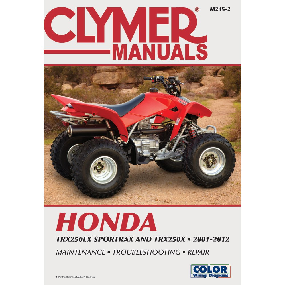Amazon.com: 1 - Clymer Honda TRX250EX Sportrax & TRX 250X (2001-2012):  Everything Else