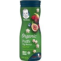 GERBER Organic Puffs, 42g, Fig Berry,