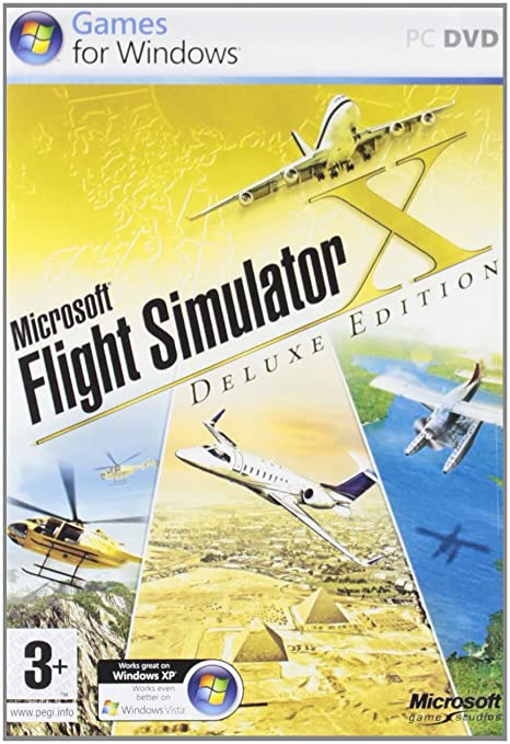 Amazon Com Microsoft Flight Simulator X Deluxe Video Games