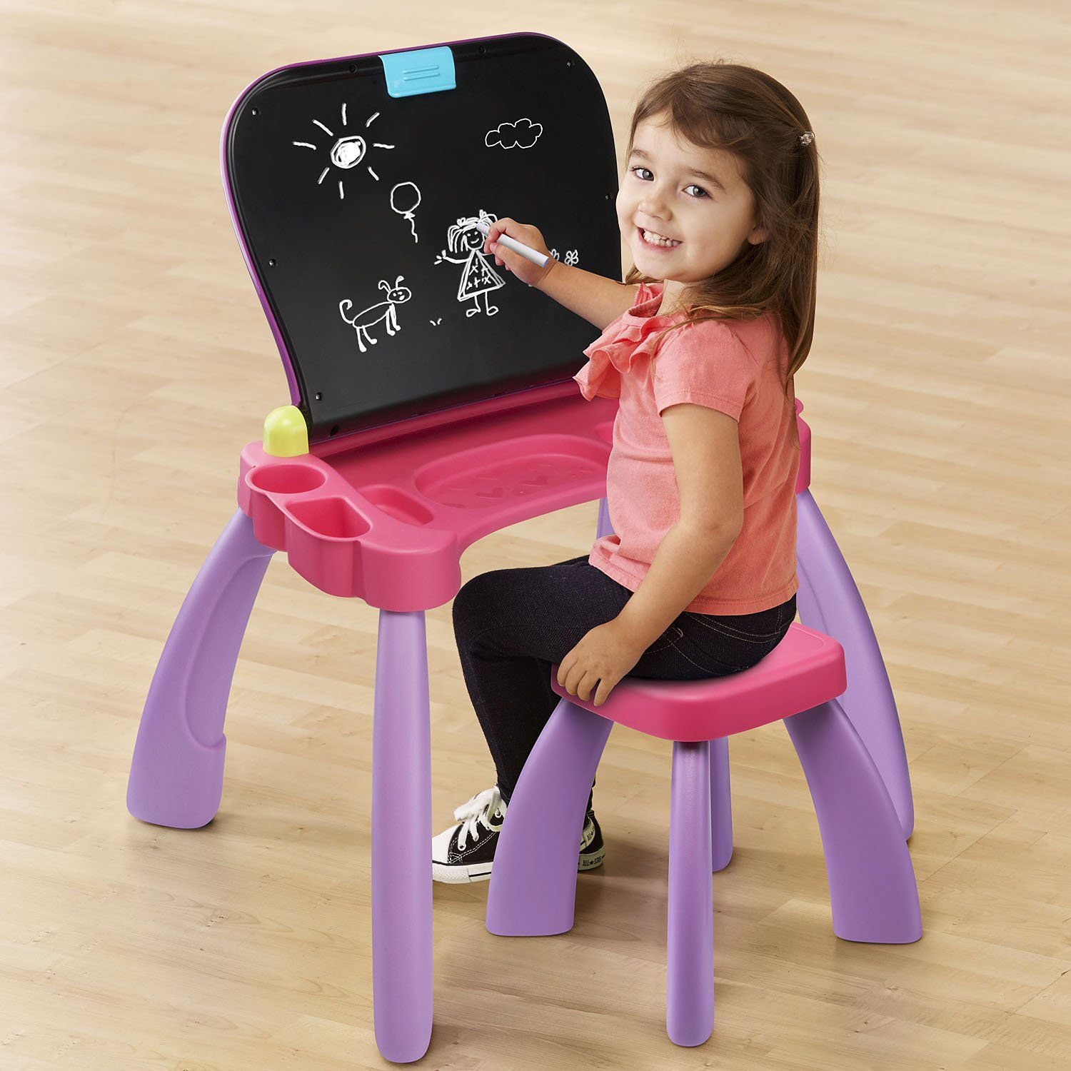VTech Touch and Learn Activity Desk, Purple by VTech (Image #5)