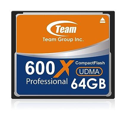 Tarjeta de Memoria Grupo Team CF 600x Clase 10 de 64GB ...