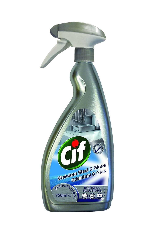 Cif Profesional 7517938 limpiador de acero inoxidable y ...