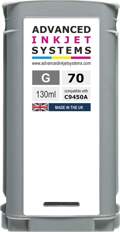 Compatible 70 130 ml cartuchos de tinta para HP DesignJet Z2100 anchuras de Z3200 Z5200 Z5400 impresoras Reino Unido fabricado., color rosso: Amazon.es: Oficina y papelería