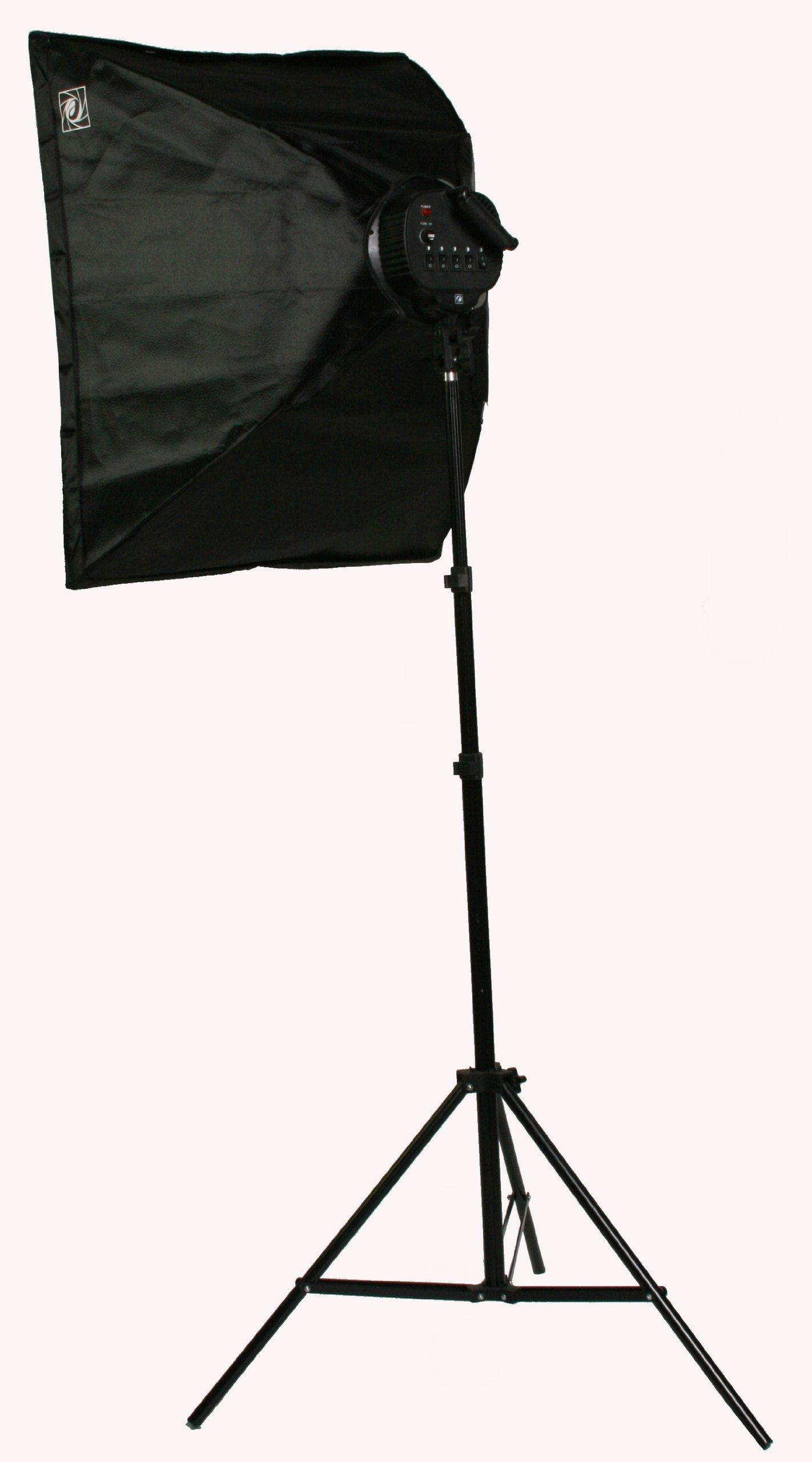 ePhoto Pro Studio Video 4500W Digital Photography Studio 3 Softbox Lighting Kit Light Set and Carrying Case H9060S3 by ePhoto