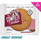 Lenny & Larry's The Complete Cookie, Snickerdoodle, 2-Ounce Cookies (Pack of 12)
