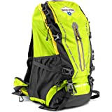 45L Internal Frame Hiking and Camping Daypack Backpack with Ripstop Water-Resistant Nylon by Grizzly Peak