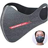 ROCKBROS(ロックブロス)フェイスマスク バイク 防塵 防寒 トレーニングマスク アウトドア用 インフルエンザ対策 活性炭