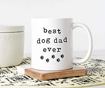 7021ce1a8 Image Unavailable. Image not available for. Color: Coffee Mug, Funny Mug, Dog  Dad ...