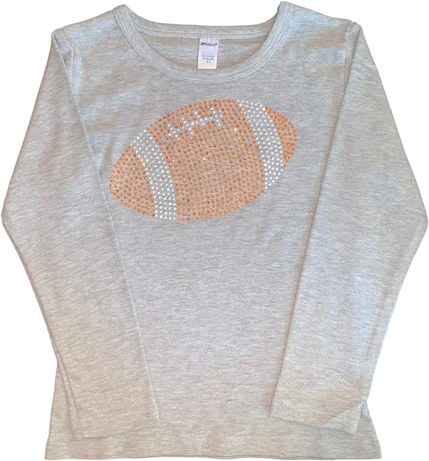 FanGarb Bedazzled Rhinestone Holiday Tee 2T-12yr