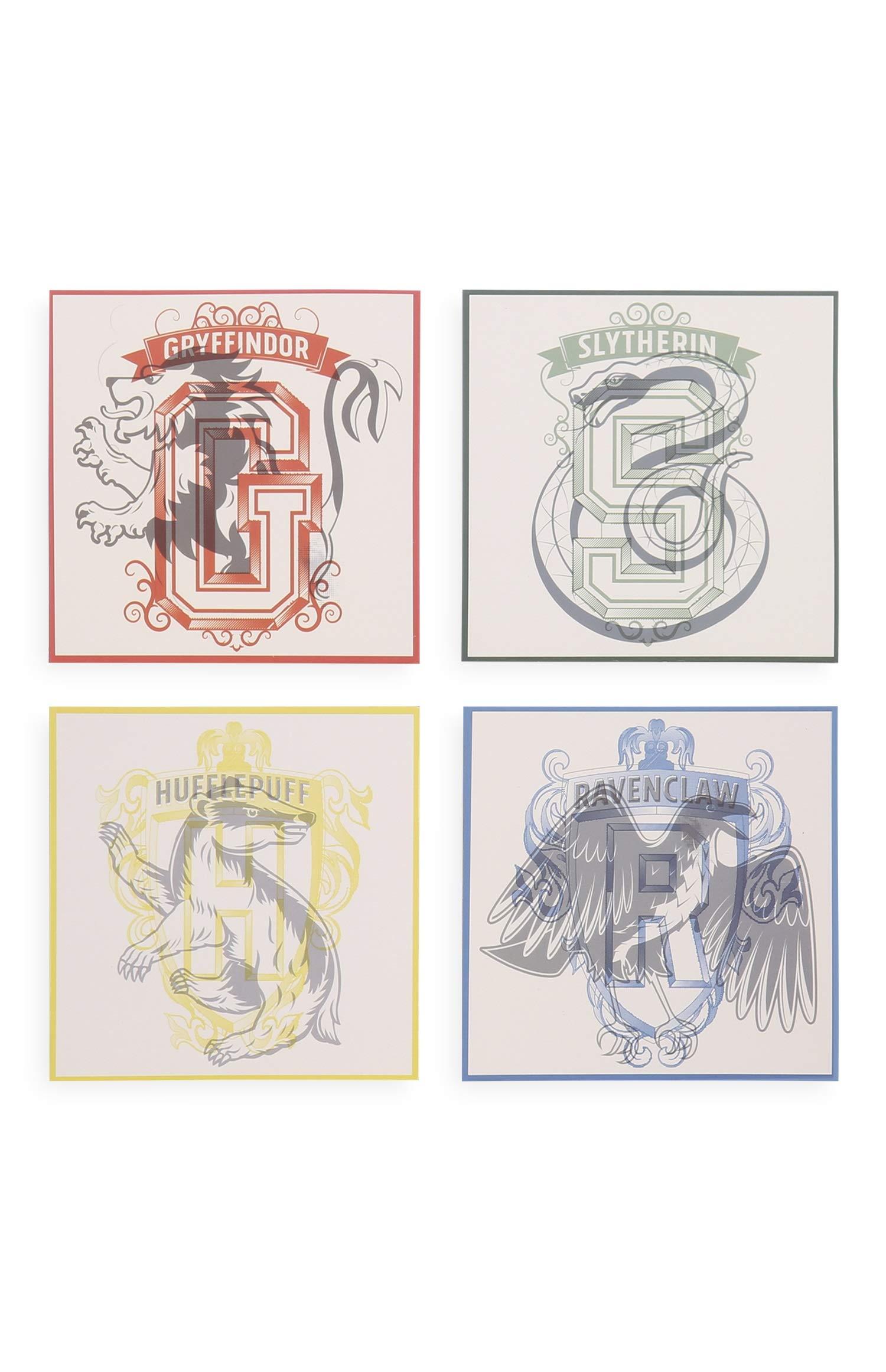 New Primark Disney Harry Potter Set Of 4 Coasters For Mugs Glasses
