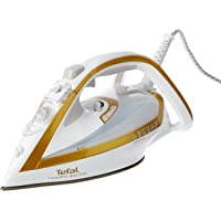 Tefal Turbopro Airglide Airglide Steam Iron, Gold/White, FV5646